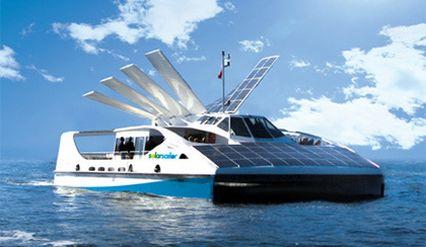 bateau fluvial p niche solaire lutte contre rechauffement plan te. Black Bedroom Furniture Sets. Home Design Ideas