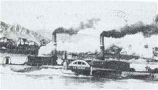 Plans bateaux vapeur du rhone - Bateau sur roues ...