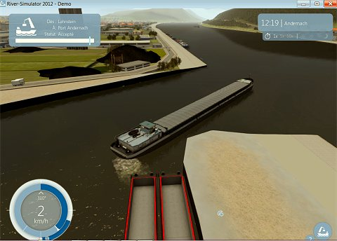 jeu de transport fluvial river simulator